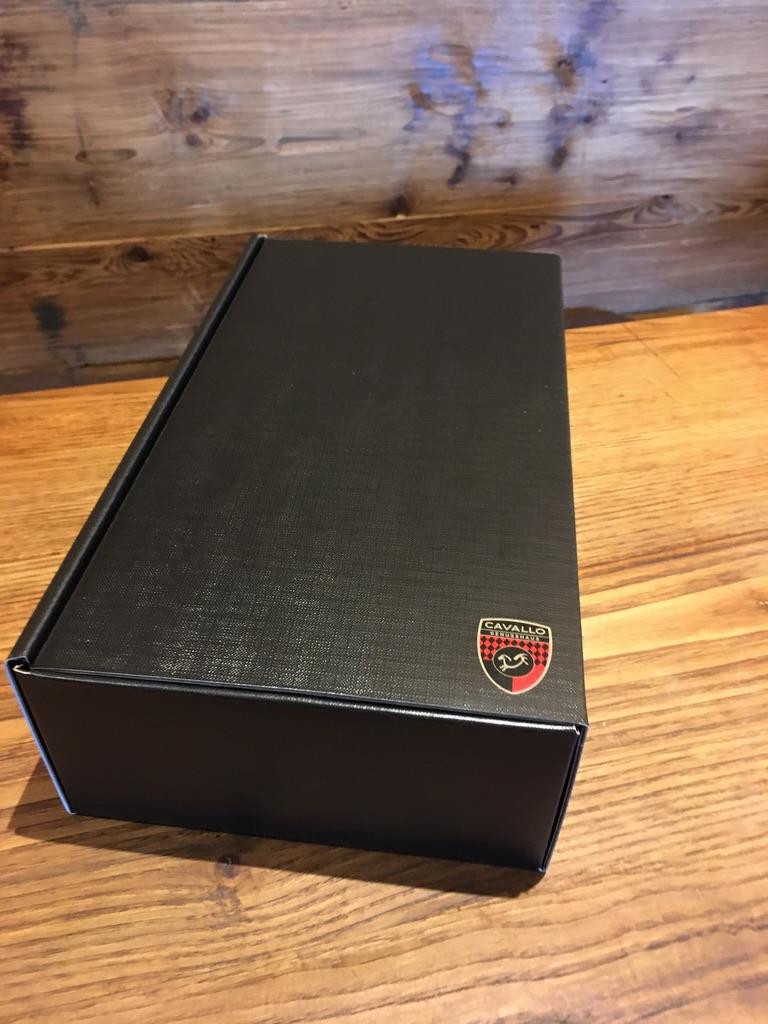 2er Wein-Präsentkarton schwarz