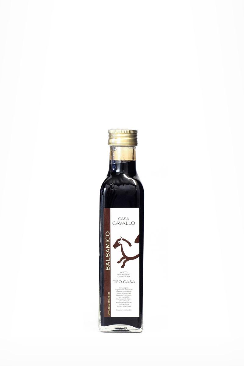 Aceto Balsamico di Modena • Tipo Casa •  0,25l